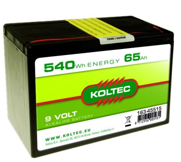 Pile 9 Volt - 540 Wh 65 Ah