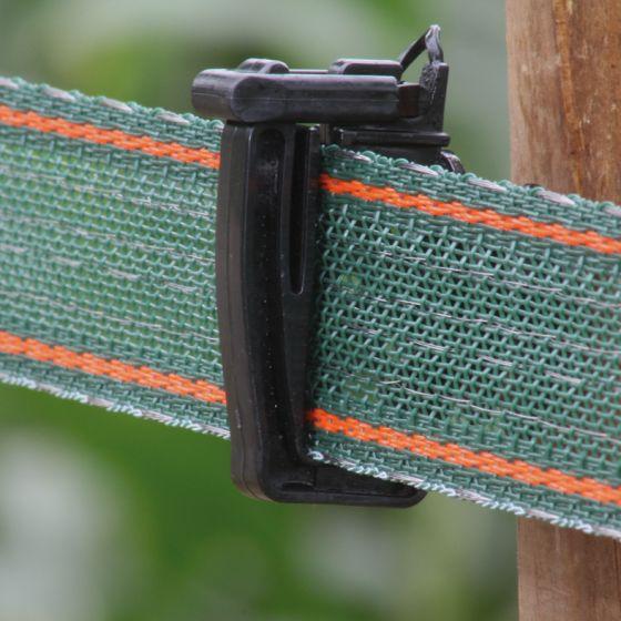Ruban vert/rge renf. 40mm