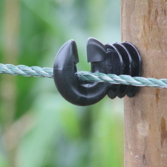 Corde vert solide 6 mm