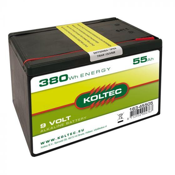 Pile 9 Volt - 380 Wh 55 Ah