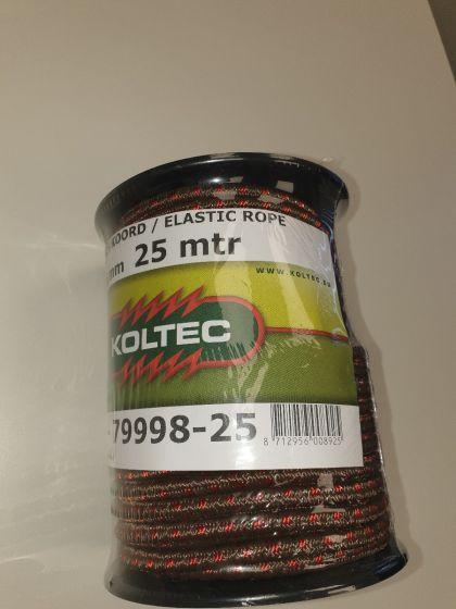 Corde élastique brun-rouge,