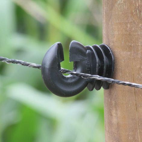 Fil noir, ca. 3,5 mm