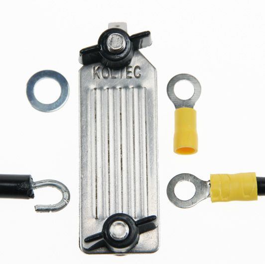 Ens.racc.ruban/câble h-tension