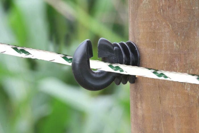 Corde blanc/vert, 500m 6mm PE